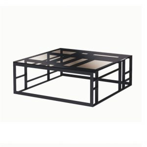 MATRIX Coffee Table black chrome SELVA