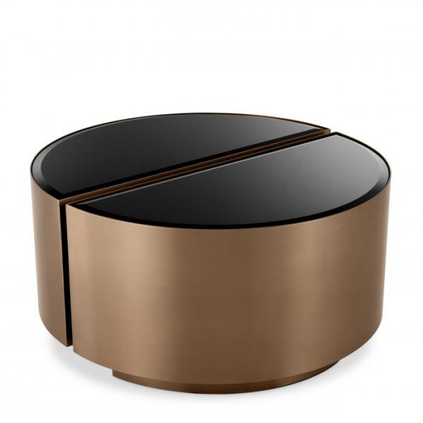 SIDE TABLE ASTRA SET OF 2 copper Eichholtz_