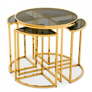 SIDE TABLE VICENZA gold Eichholtz