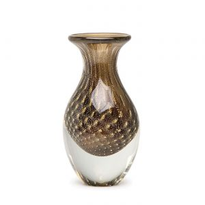 Balloton mini vase high fume-gold by Seguso GARDECO CDO-17157