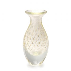 Balloton mini vase high transparent-gold by Seguso GARDECO CDO-15651