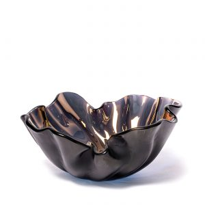Bowl lirio R bronze by Regina Medeiros GARDECO RM-LIRIORBR