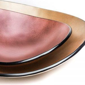 RM-BOCOB45 - RM-BOROUG35 Bowl oval cobre 45 - rouge 35 by Regina Medeiros (2)