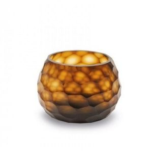 Somba tealight butter brown GUAXS vase 1660BUBB