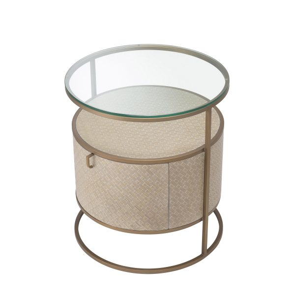 NAPA VALLEY BEDSIDE TABLE Eichholtz 114776_3_1_1