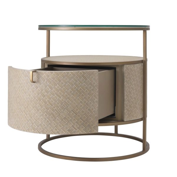 NAPA VALLEY BEDSIDE TABLE Eichholtz 114776_6_1_1