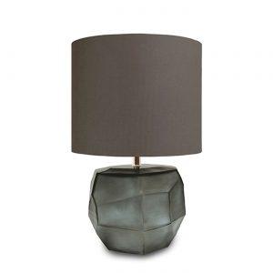 CUBISTIC ROUND TABLE LAMP Indigo smokegrey Guaxs 9537INGY-GR