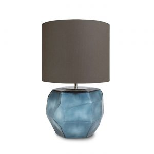 CUBISTIC ROUND TABLE LAMP oceanblue Indigo Guaxs 9537OBIN-GR