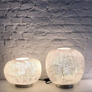 ERBSE 1 2 TABLE LAMP clear Opal Guaxs