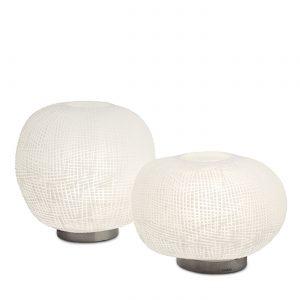 ERBSE 1 2 TABLE LAMP clear Opal Guaxs 9542-9543CLOP