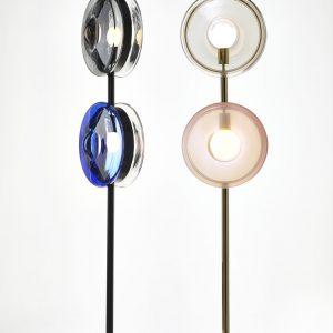 Orbital floor lamps BOMMA Design by deForm
