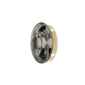 Orbital wall & ceiling lighting mercury black-polished brass BOMMA