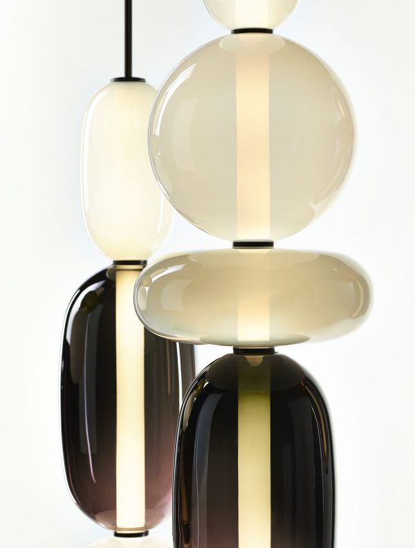 Pebbles BOMMA by Boris Klimek designer lighting detail
