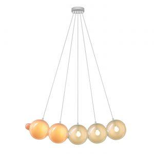 Pendulum 5 position Pink & Light grey BOMMA 01