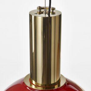 Phenomena BOMMA Ferrari Red detail pendant polished brass