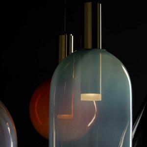 Phenomena BOMMA Suspension Lamps Gold