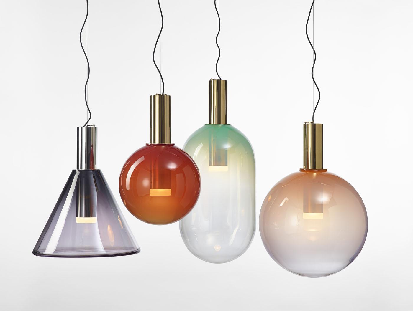 Phenomena Lighting BOMMA Pendants brass gold