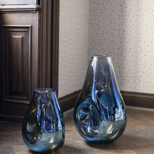 Soap Vase blue Bomma