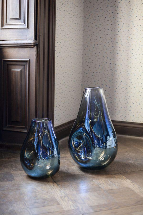 Soap Vase blue Bomma
