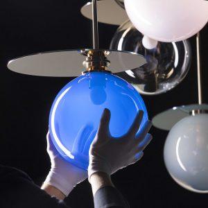 Umbra Pendant lights BOMMA blue detail