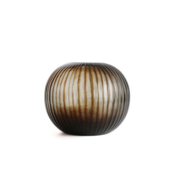 Gobi-round-indigo-brown-vase-GUAXS-1412INRB