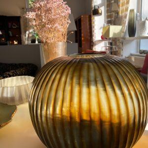 GOBI ROUND Indigo Brown GUAXS vase (2)