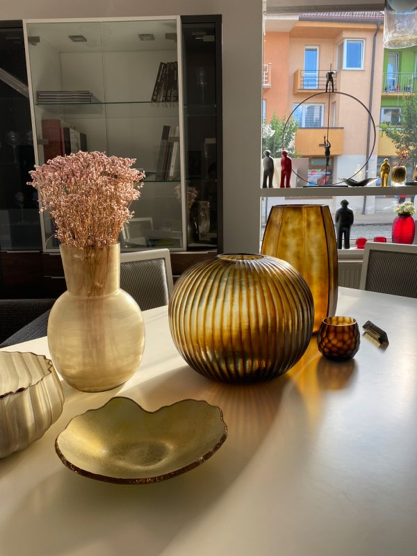 GUAXS Vases SHowroom FMDESIGN Gold ButterBrown (2)